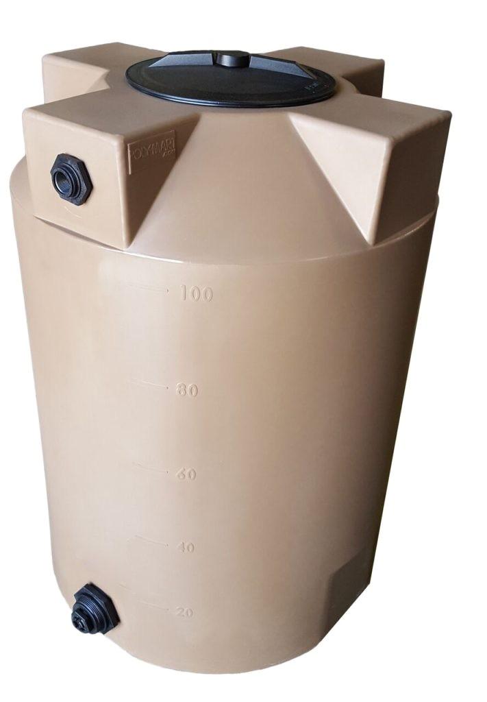 100 gallon water storage tank