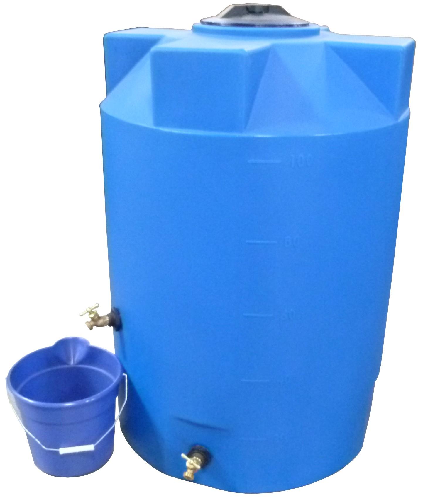 polymart 100gallon emergency plastic water storage tank