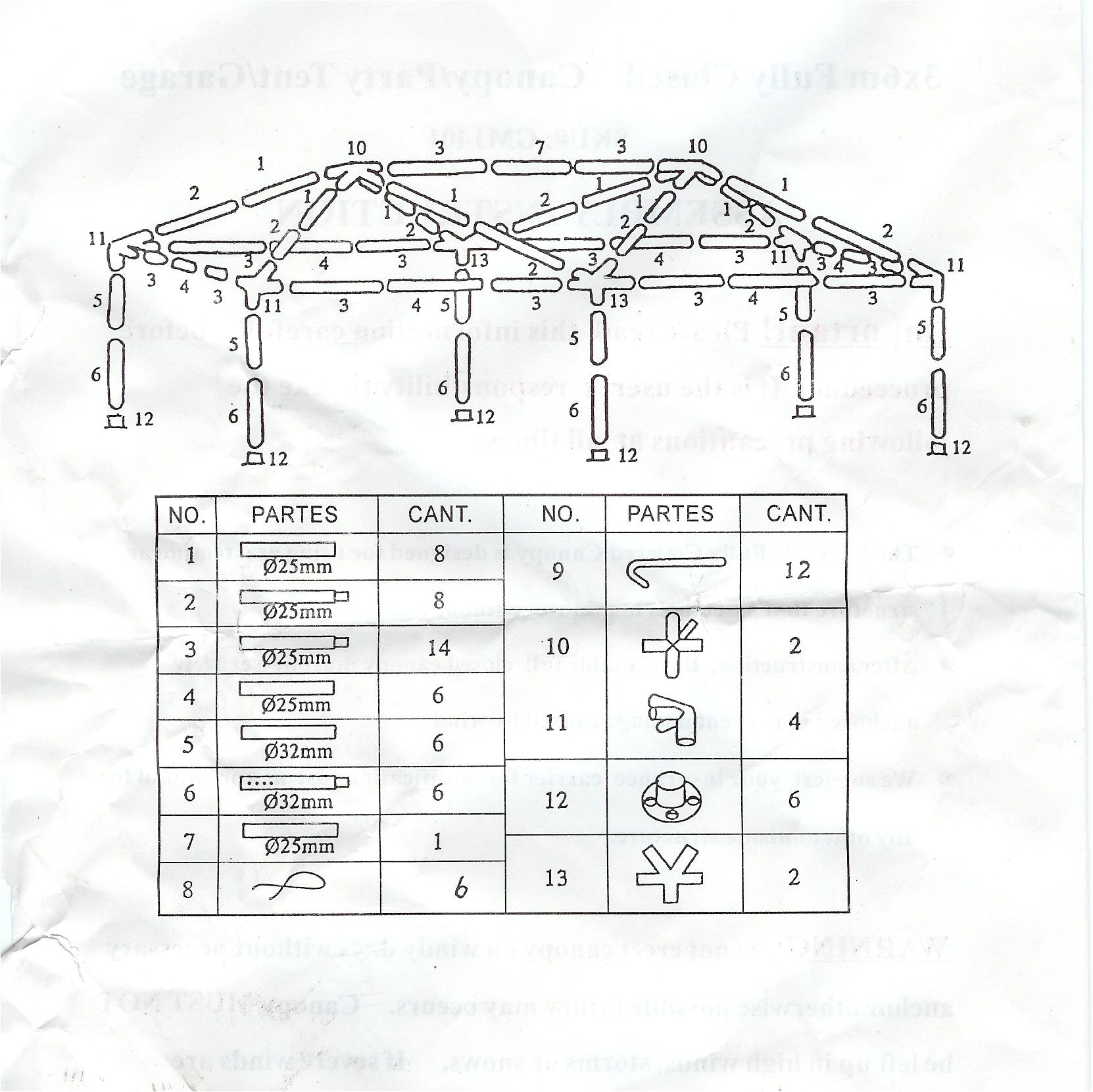 337 gazebo canopy instructions