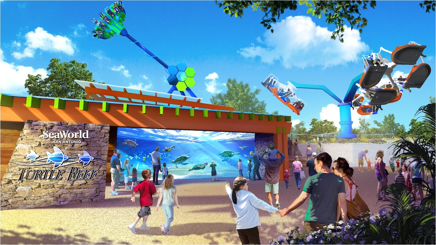 turtle reef will be 2019 highlight at seaworld san antonio