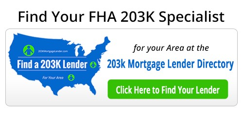 fha 203k tips contractors bid and work write ups