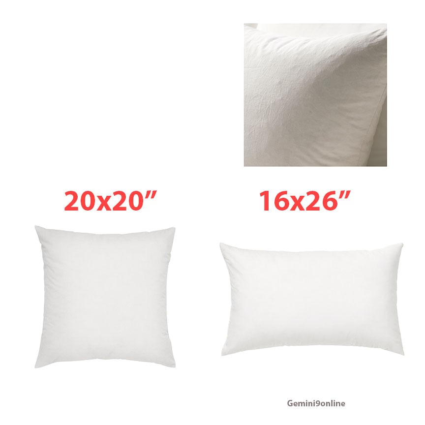 20×20 Pillow Insert Ikea Ikea Pillow Insert Duck Feathers Fjadrar 20×20 Quot or 16×26