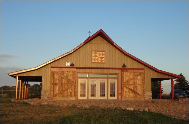 metal pole barn homes pictures