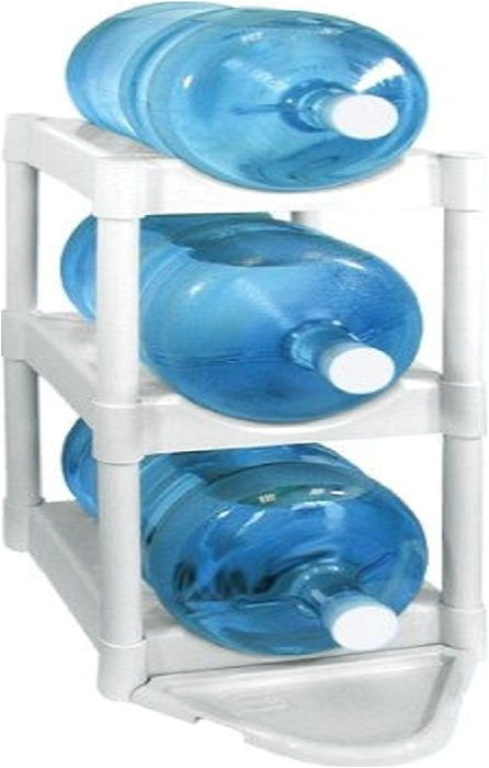 5 gallon water storage rack