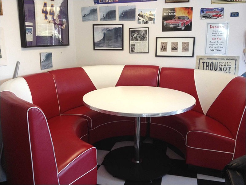 50 S Diner Booth for Sale How to Build A 50s Diner Booth Ebay