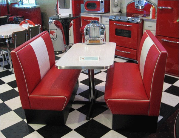50 S Diner Booth for Sale Retro Diner Booth Swineflumaps Com