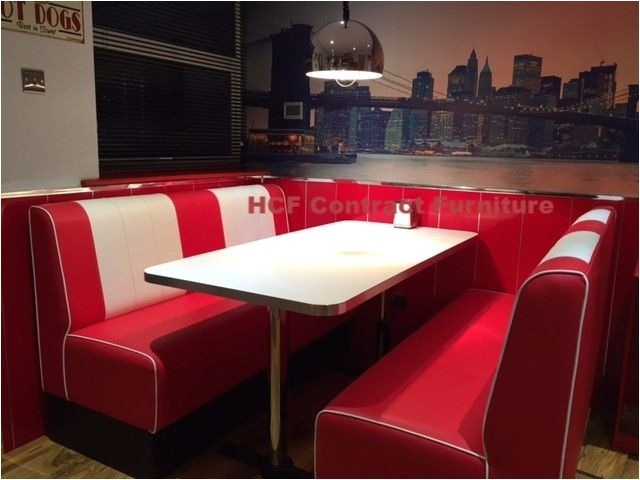 50 S Diner Booth for Sale Retro Seating Booths and Retro Chairs and Diner Furniture