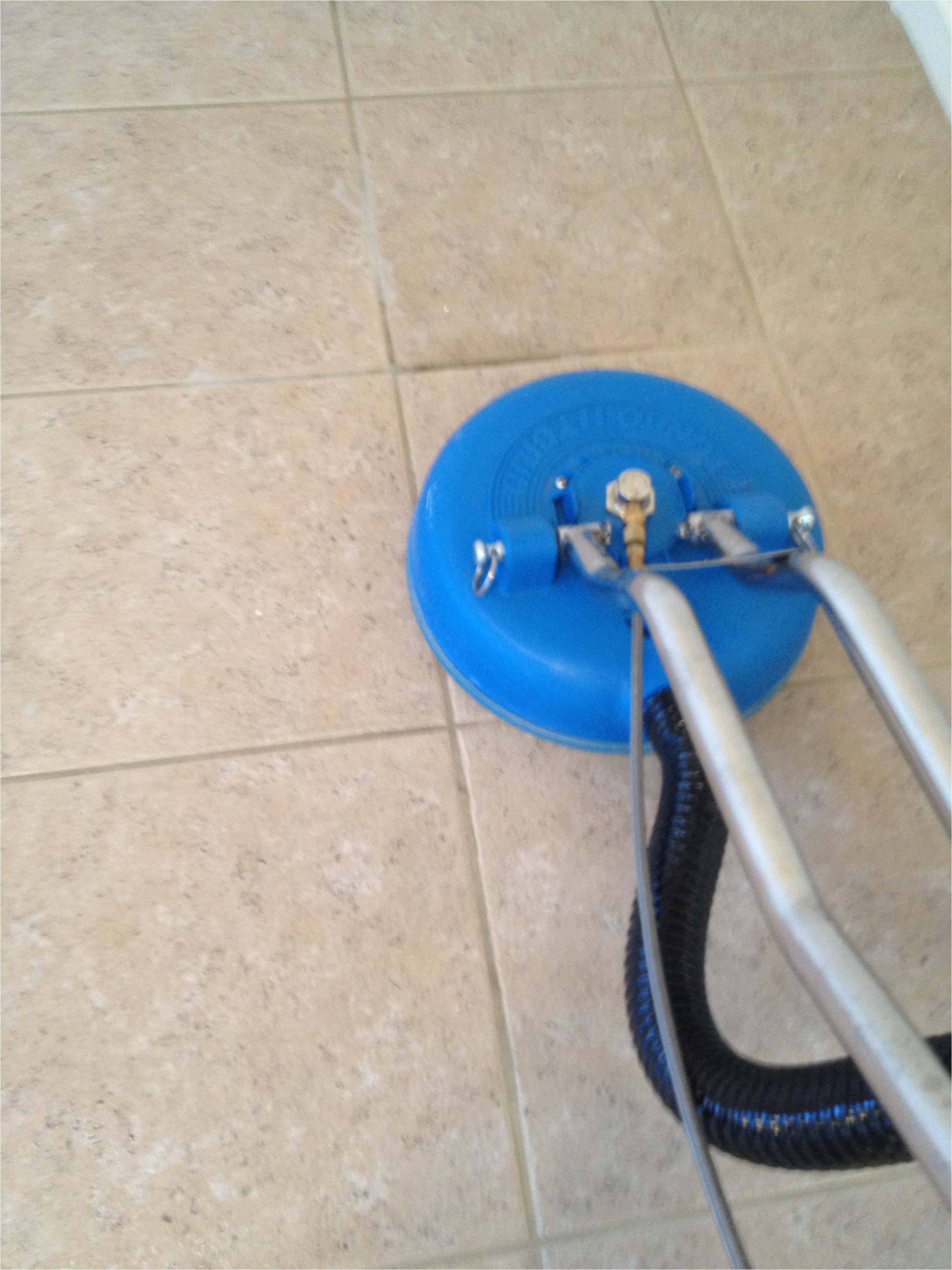 tile and grout cleaning showing ace s state of the art machinery