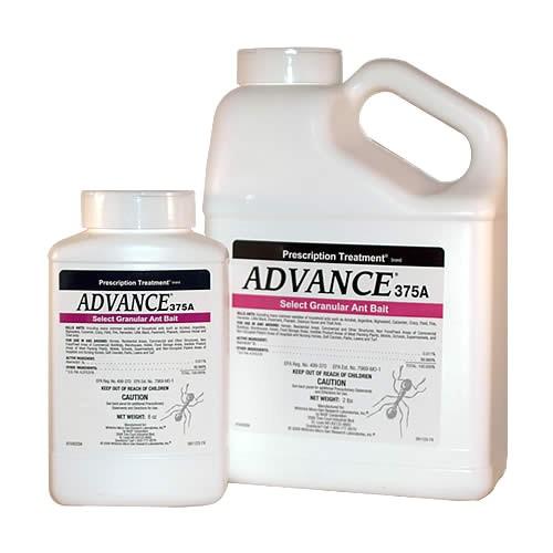 advance 375a select granular ant bait