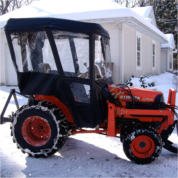 tractor cab enclosure for kubota b series tractor requires canopy p 3957