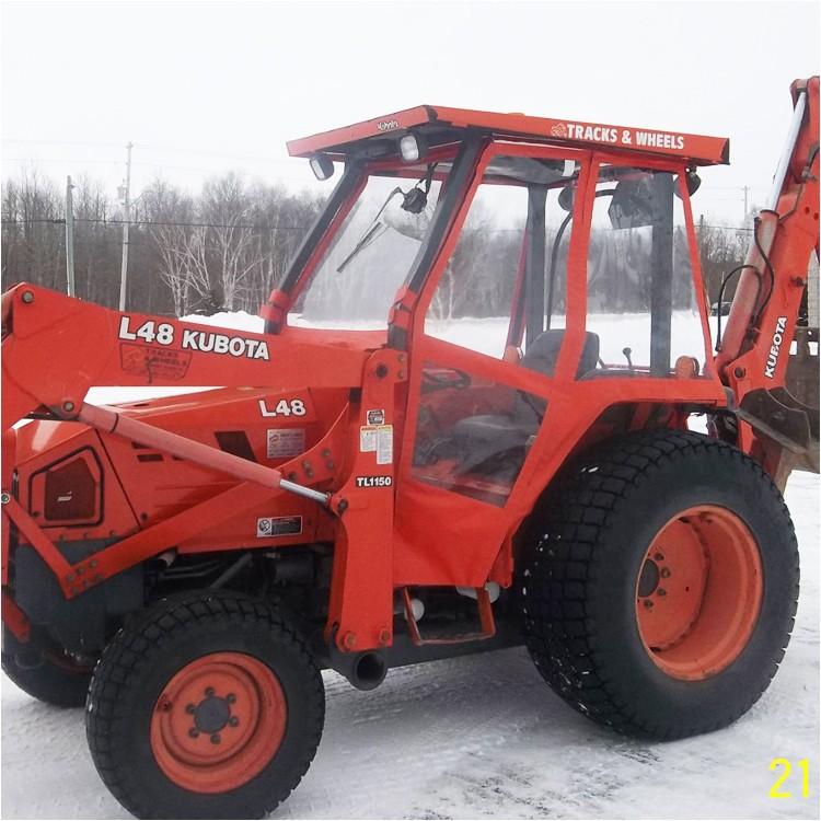 tractor cab enclosure for kubota m59 p 4079