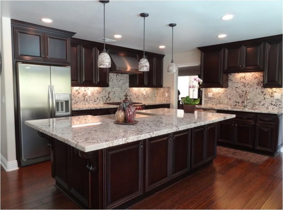 make your elegant kitchen with alaska white granite