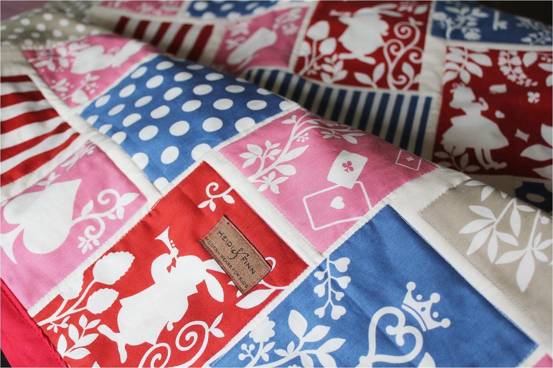 baby quilt blanket baby bedding alice in