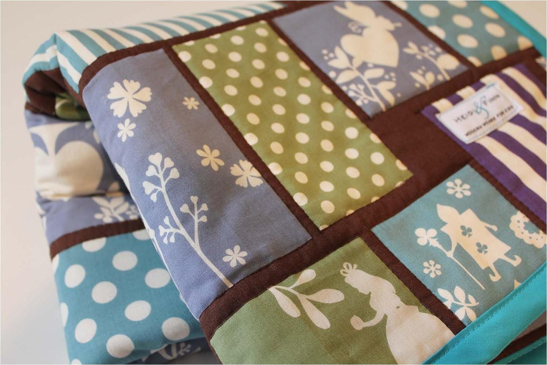 ooak baby quilt blanket baby bedding