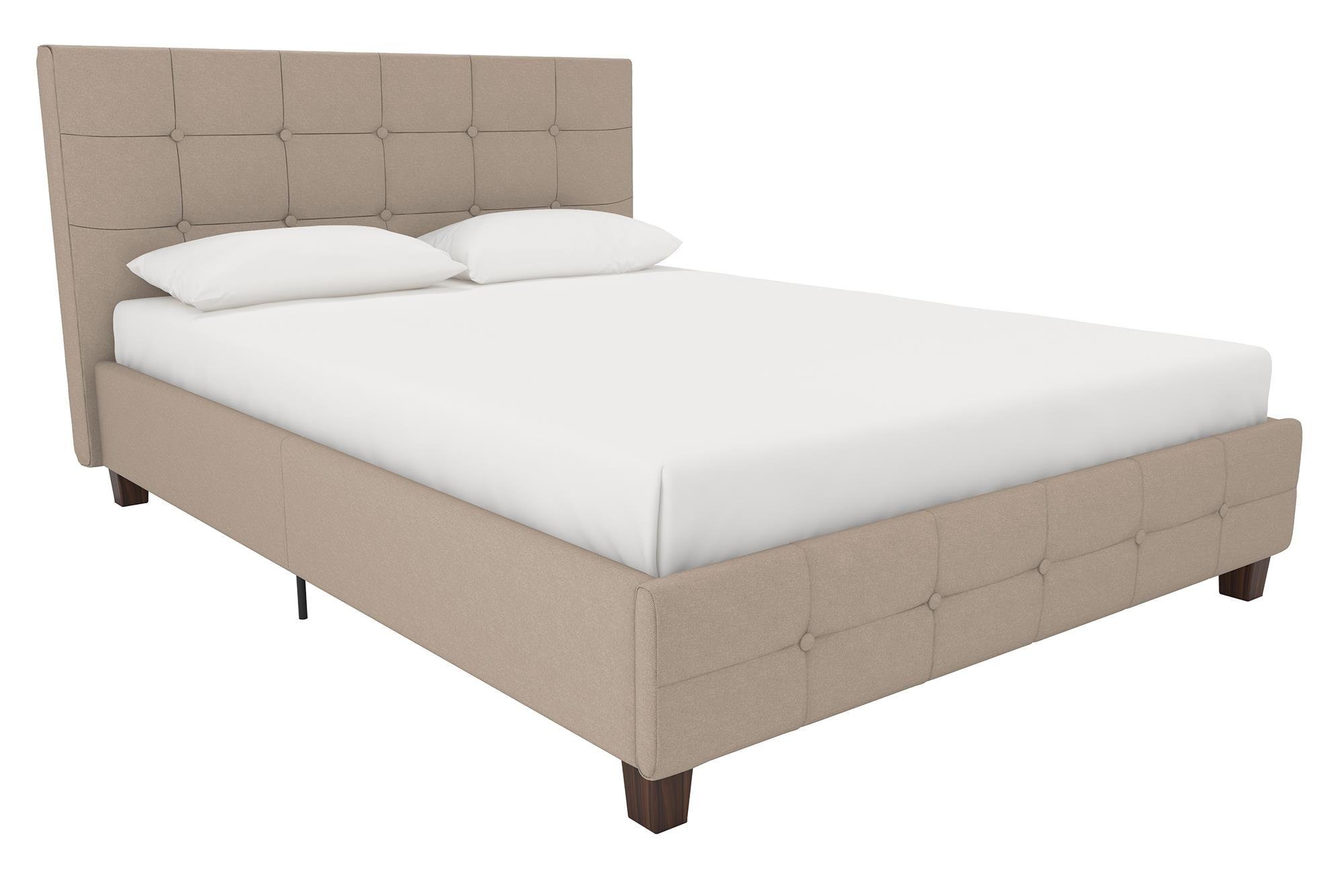 3753 4028309 rose upholstered bed