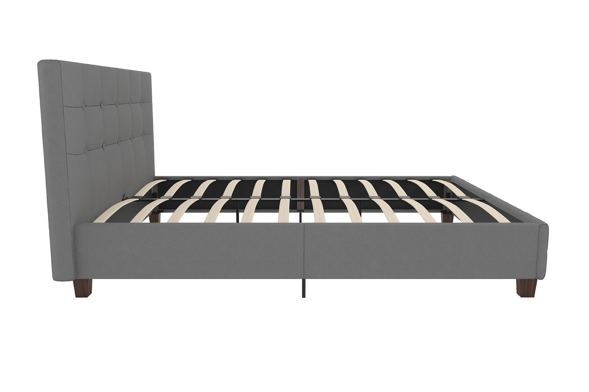 3756 4028409 rose upholstered bed