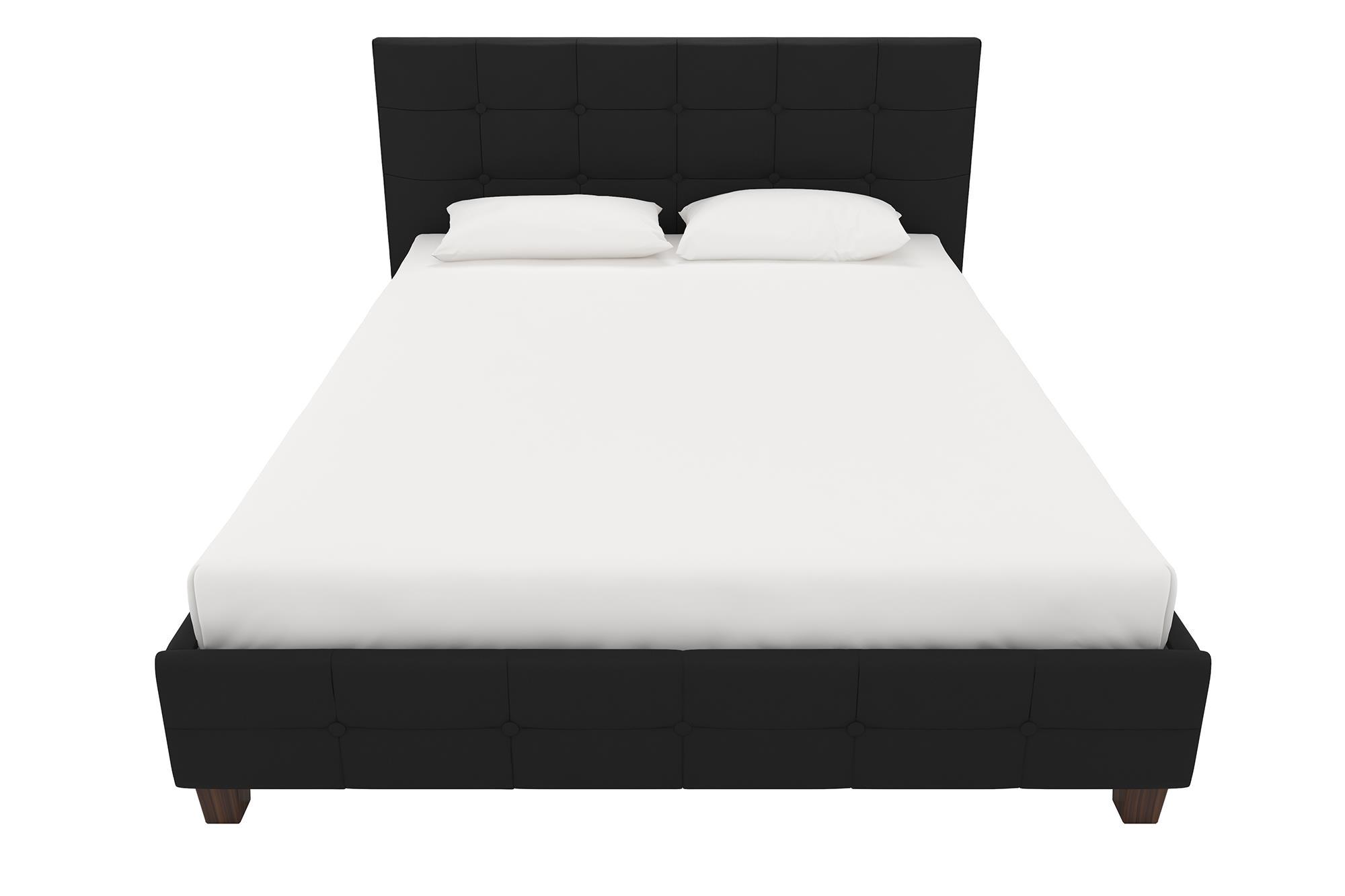 4694 4029039 rose upholstered bed