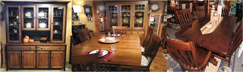 amish dining room furniture