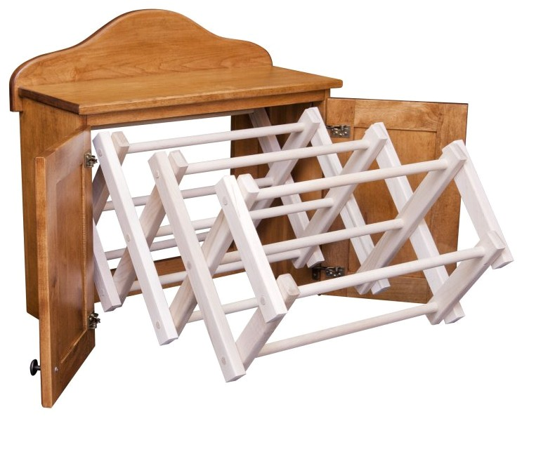 Amish Made Clothes Drying Rack Adinaporter