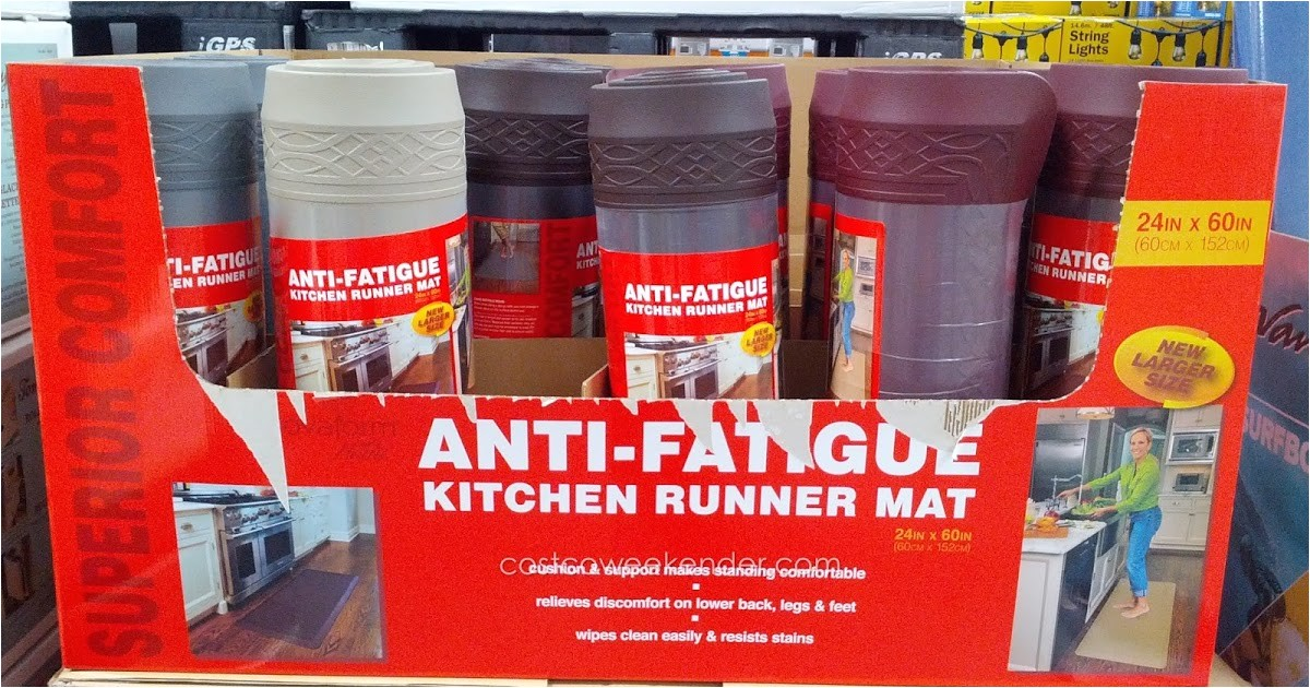 Anti Fatigue Kitchen Mats Costco Novaform Home Anti Fatigue Kitchen Runner Mat Costco