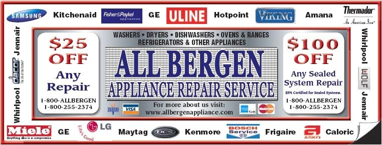 Appliance Repair Bergen County Adinaporter