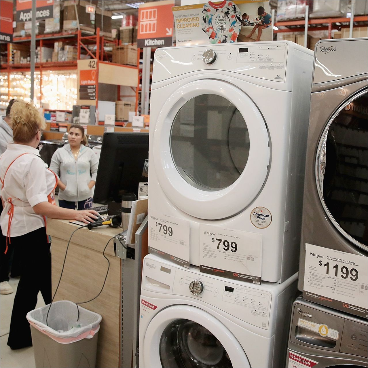 washing machines for sale at home depot in chicago