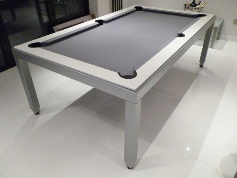 Aramith Fusion Pool and Dining Table Aramith Fusion Black Luxury Pool Dining Table