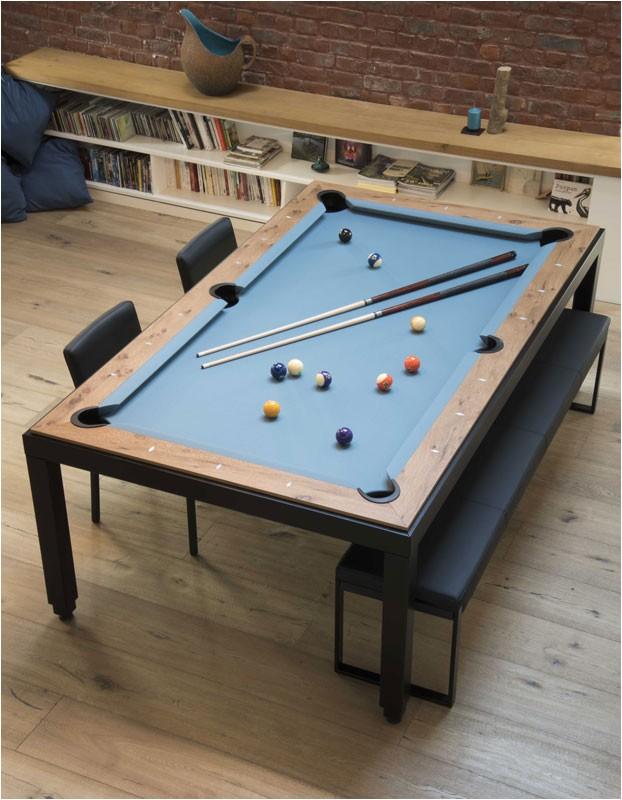 aramith fusion vintage pool dining table