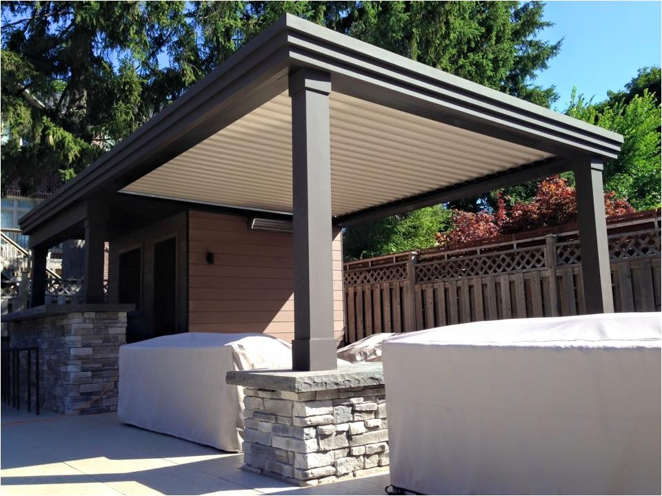 arcadia louvered roof