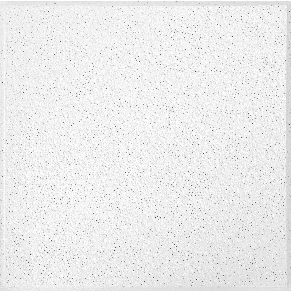 armstrong brighton 2 ft x 2 ft white suspended grid ceiling panel