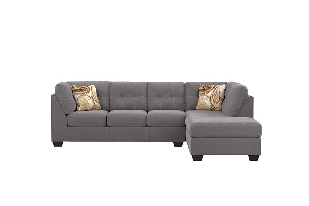 Ashley Furniture Pitkin Sectional Slate Pitkin Sectional and Pillows ashley Furniture Homestore