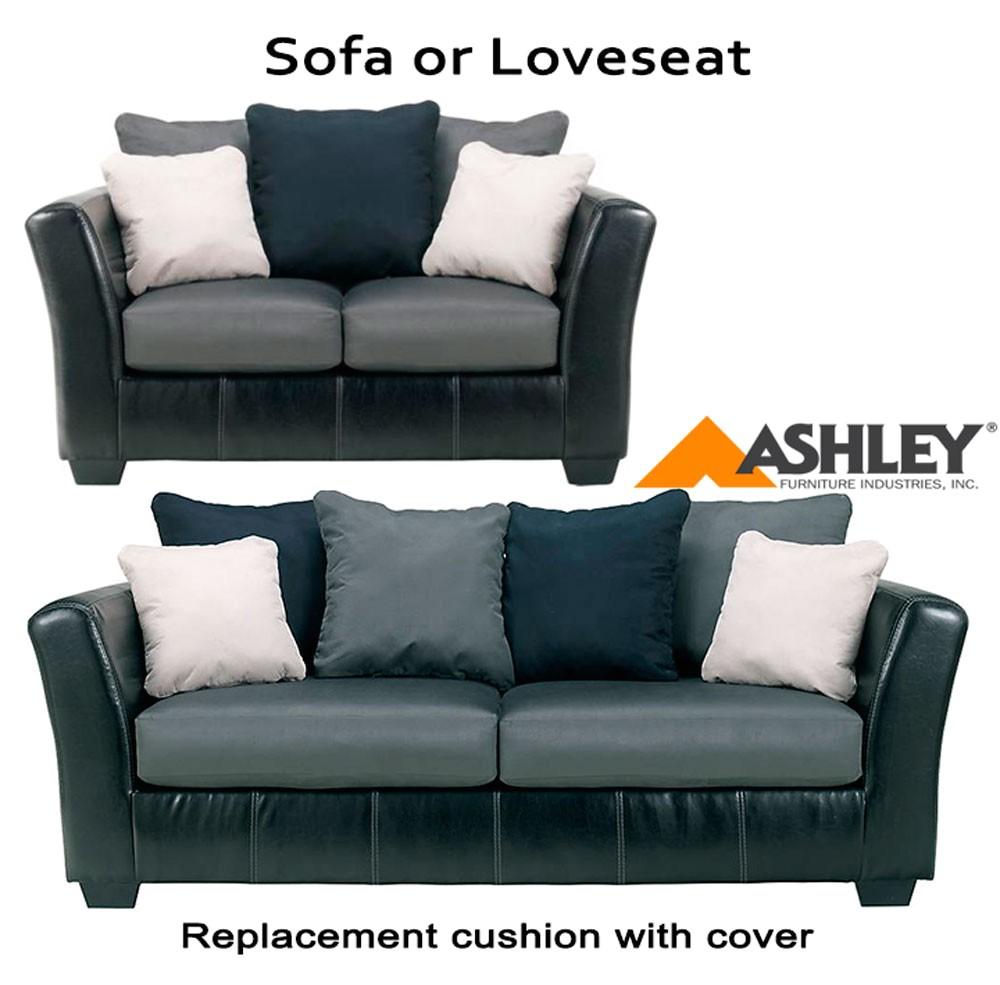 ashley masoli replacement cushion cover 1420038 sofa or 1420035 love p 81802