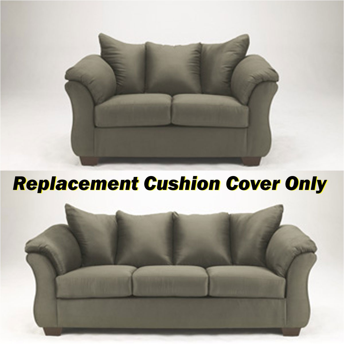 ashley darcy replacement cushion cover only 7500338 or 7500335 sage p 81666