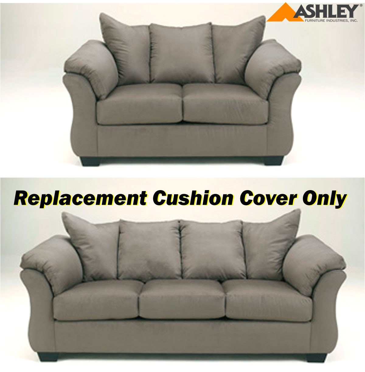 ashley darcy replacement cushion cover only 7500538 or 7500535 cobblestone p 81670
