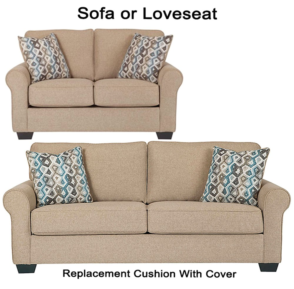ashley nalini replacement cushion cover 6110238 sofa or 6110235 love p 81811