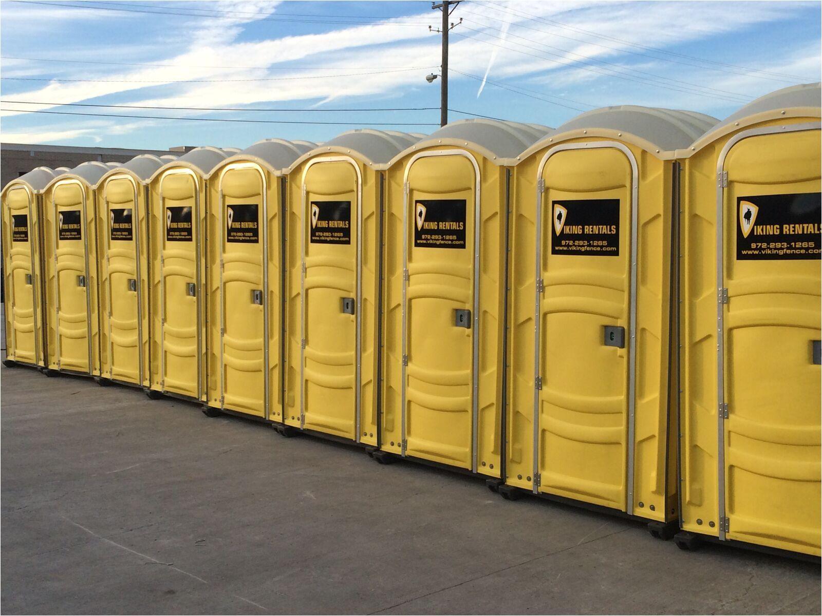 viking fence portable toilets