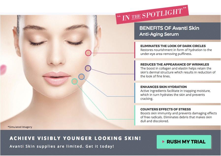 avanti anti aging