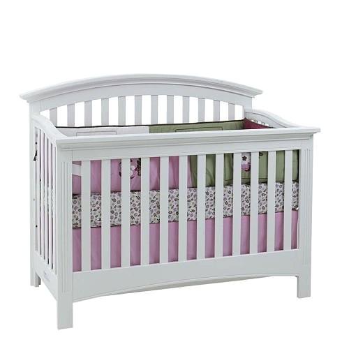 Baby Cache Essentials Crib Baby Cache Essentials Full Size Conversion Rails White