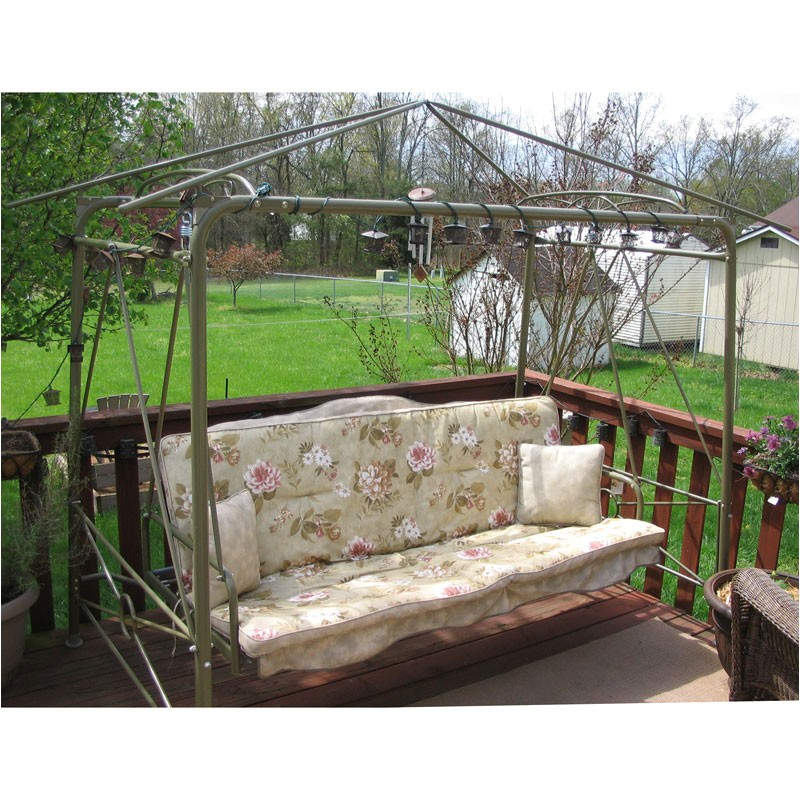patio swing by courtyard creations