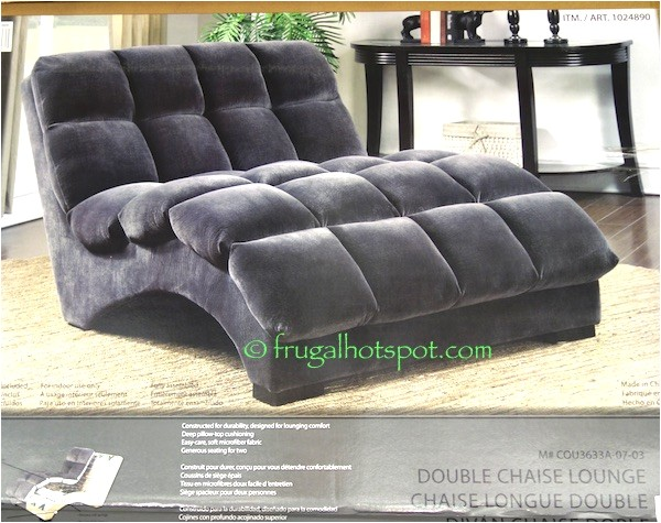 Bainbridge Double Fabric Chaise Lounge Adinaporter