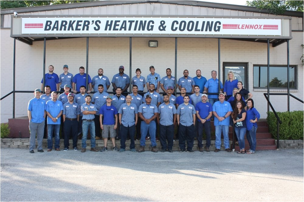 barkers heating and cooling college station