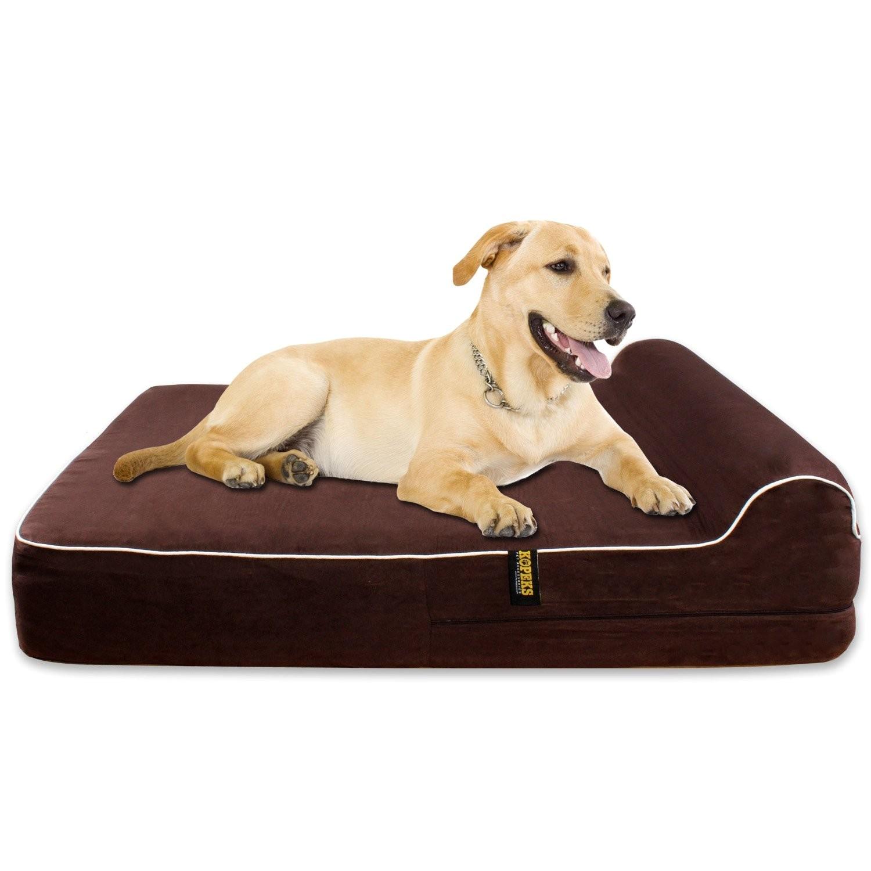 Barksbar orthopedic Dog Bed Small Amazoncom Barksbar Large Gray orthopedic Dog Bed X Dog