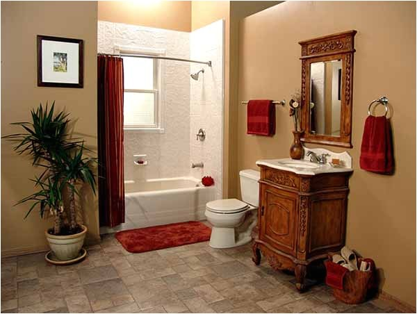bathrooms after before