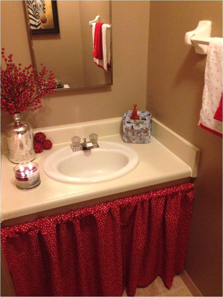 skirt for bathroom sink