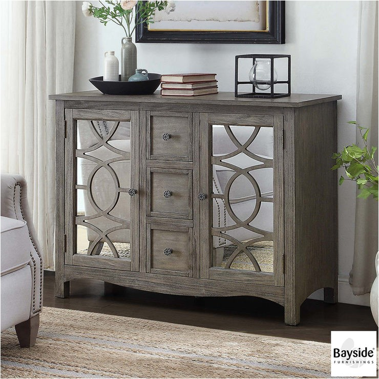 Bayside Furnishings Costco: Bayside Furnishings Mirrored Accent Cabinet