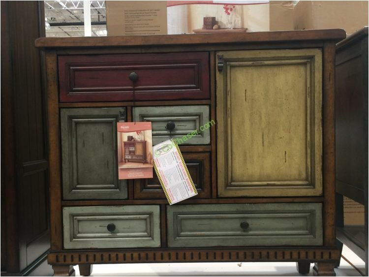 Bayside Furnishings Multi-color Accent Cabinet Bayside Furnishings Kendra Accent Cabinet Costcochaser