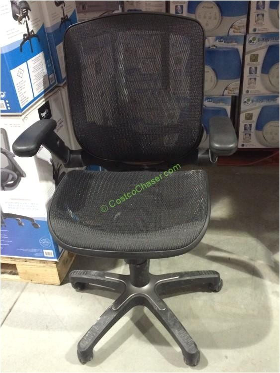 bayside furnishings metrex ii mesh chair with flip arms