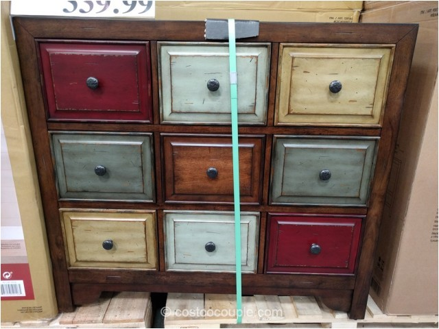 bayside furnishings 9 drawer accent cabinet