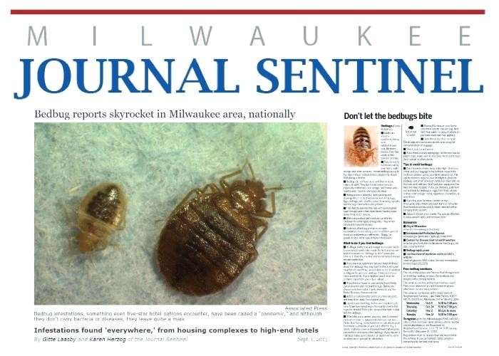 bed bugs milwaukee again makes top bed bug cities list bed bug services milwaukee