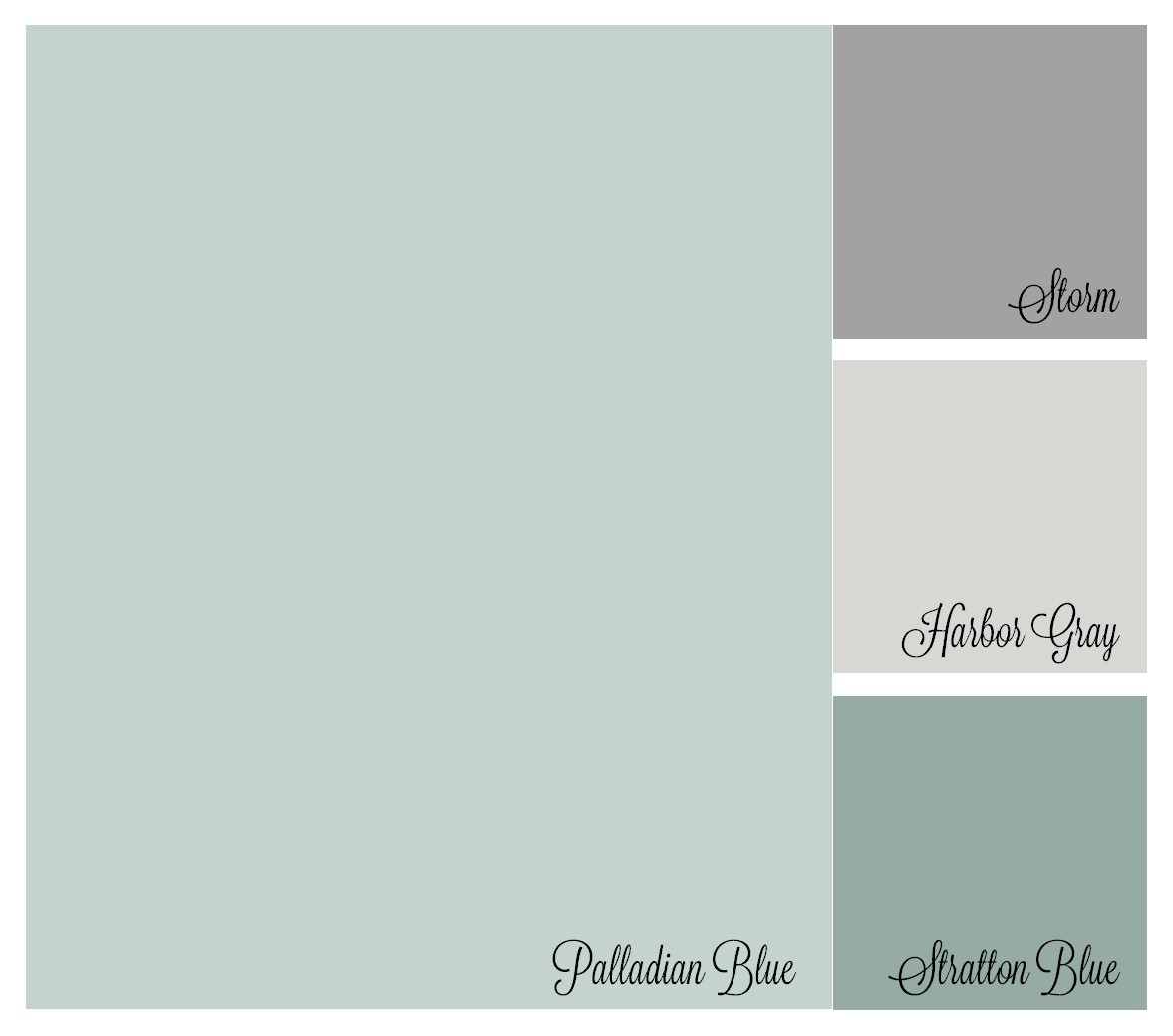 color palette benjamin moore palladian blue storm harboy gray stratton blue